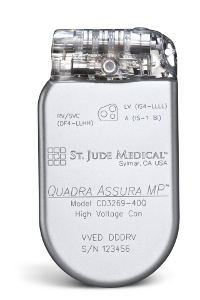 St Jude Medical receives CE Mark clearance for Quadra Assura MP CRT-D
